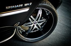 2 CRAVE® - No.16 Wheels on Cadillac Escalade