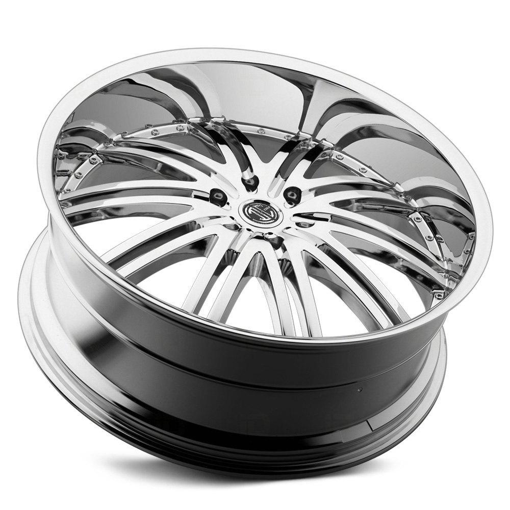 2 CRAVE® No.11 Wheels - Chrome Rims