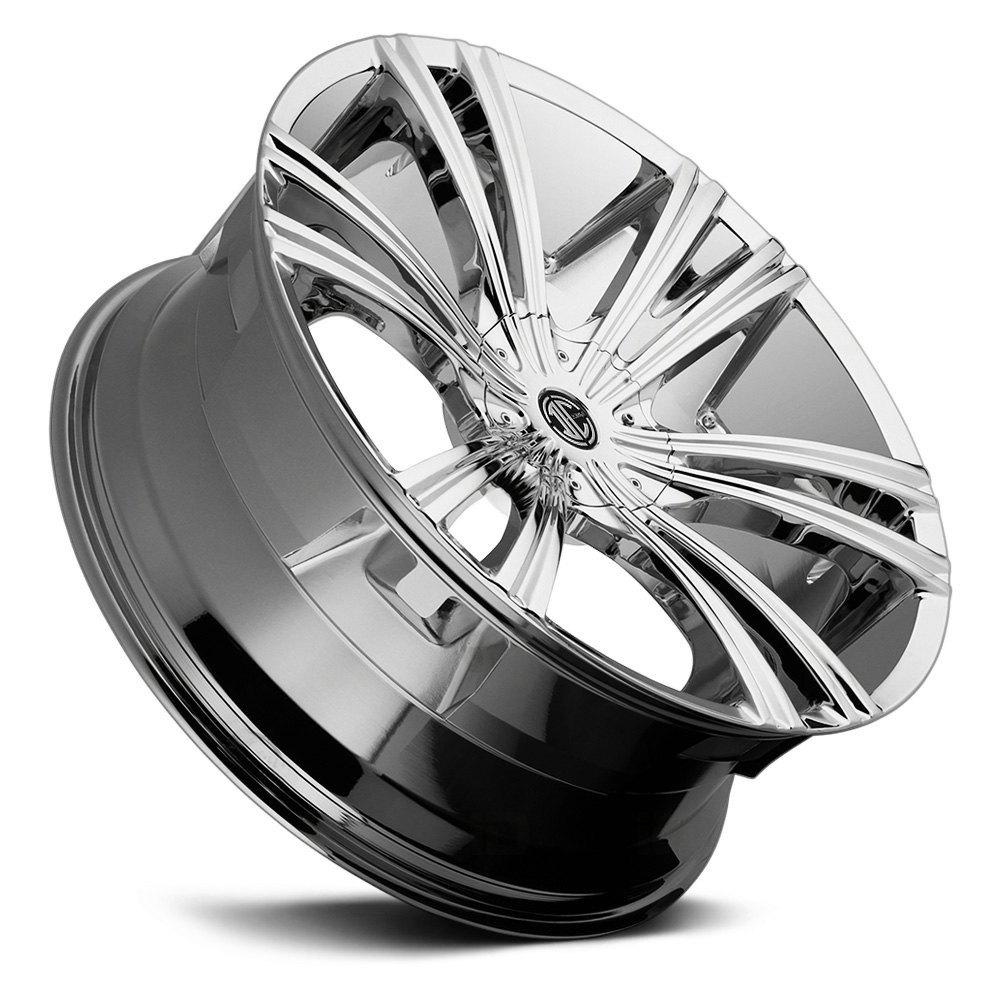 2 CRAVE® NUMBER 12 Wheels - Chrome Rims