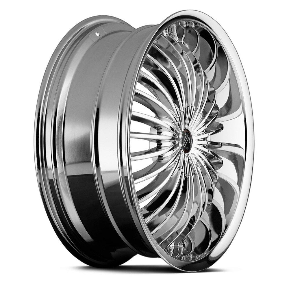 2 CRAVE® NO.13 Wheels - Chrome Rims