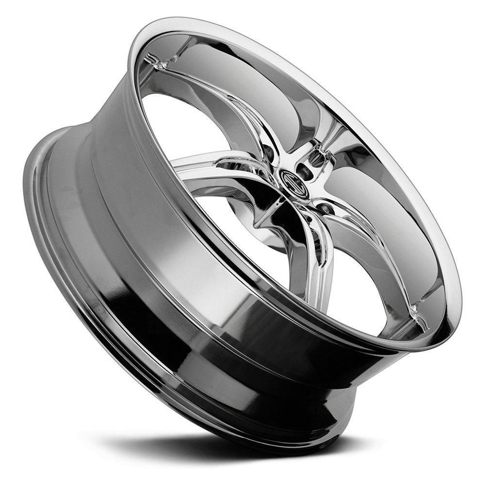 2 CRAVE® NUMBER 14 Wheels - Chrome Rims