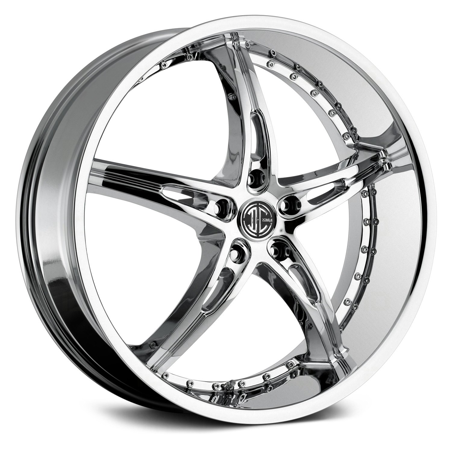 2 Crave 174 No 14 Wheels Chrome Rims