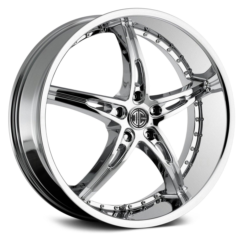 2 Crave 174 No 14 Wheels Chrome Rims