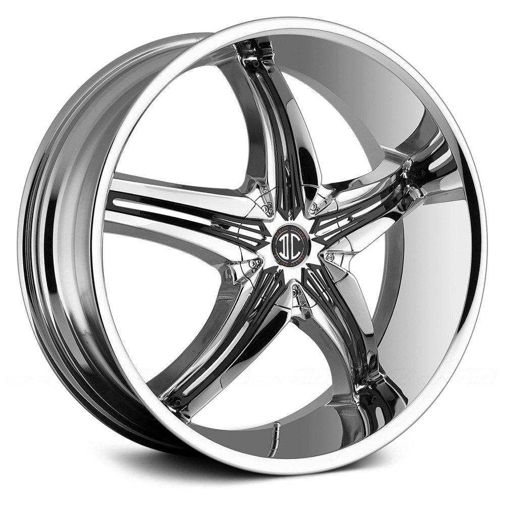 2 CRAVE® No.5 Wheels - Chrome Rims