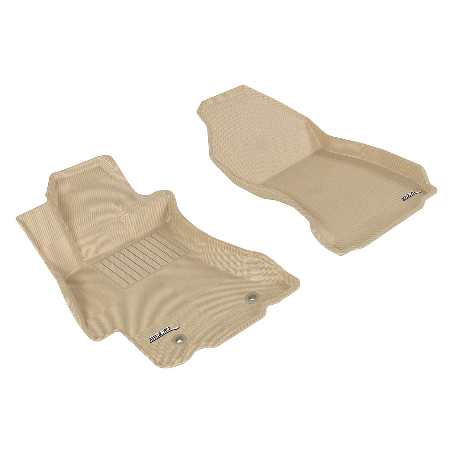 Tan PantsSaver 1402123 Custom Fit Car Mat 4PC