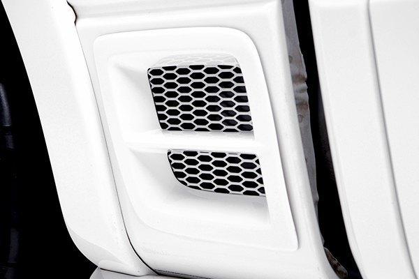 3d Carbon® 691109-PAINTED - Painted Rear Fender Vents