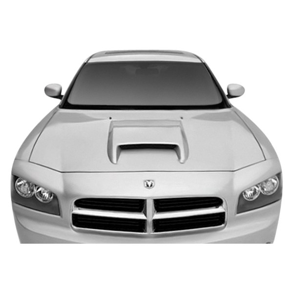 3d carbon dodge charger 2008 hood scoop. Black Bedroom Furniture Sets. Home Design Ideas