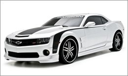 3d Carbon Body Kit on Chevy Camaro 2010