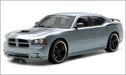 3d Carbon Body Kit on Dodge Charger 2006