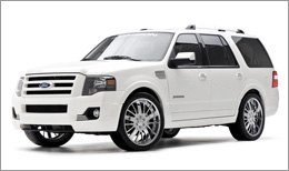 3d Carbon Body Kit on Ford Expedition 2007