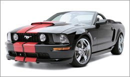 3d Carbon Body Kit on Ford Mustang 2005
