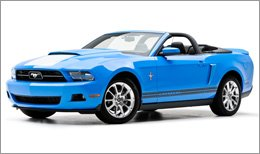 3d Carbon Body Kit on Ford Mustang 2010