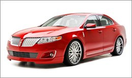 3d Carbon Body Kit on Lincoln MKS 2009