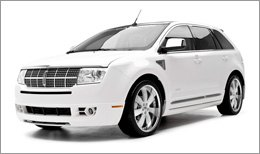 3d Carbon Body Kit on Lincoln MKX 2007