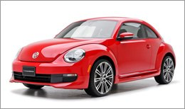 3d Carbon Body Kit on Volkswagen New Beetle 2010