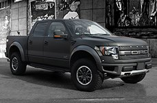 3M™ - Car Wrap on Ford Raptor