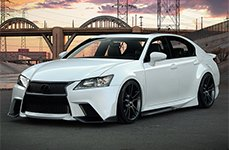 3M™ - Car Wrap on Lexus GS-F