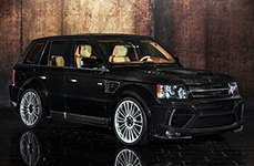 3M™ - Car Wrap on Range Rover Sport