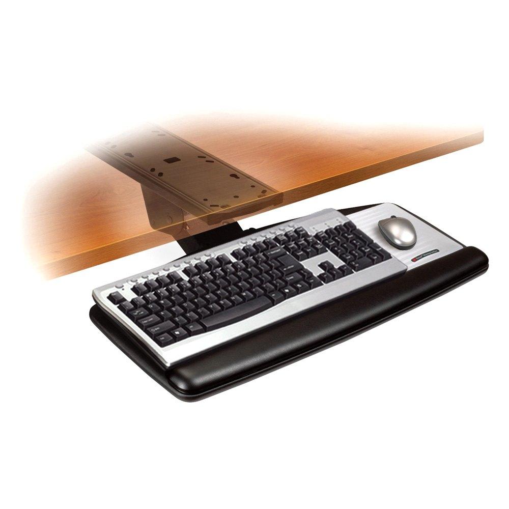 3m 174 Akt170le Adjustable Keyboard Tray