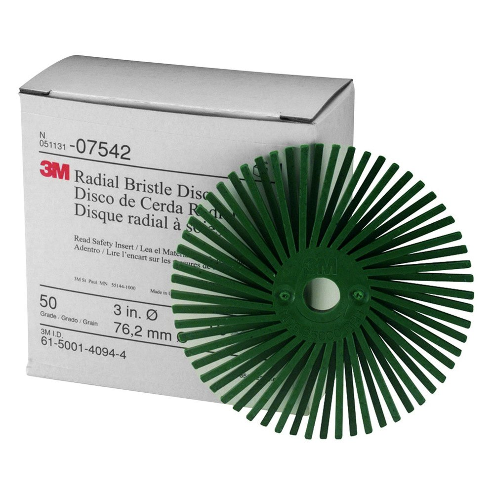 3m 07542 3 scotch brite radial bristle disc for A and m salon equipment