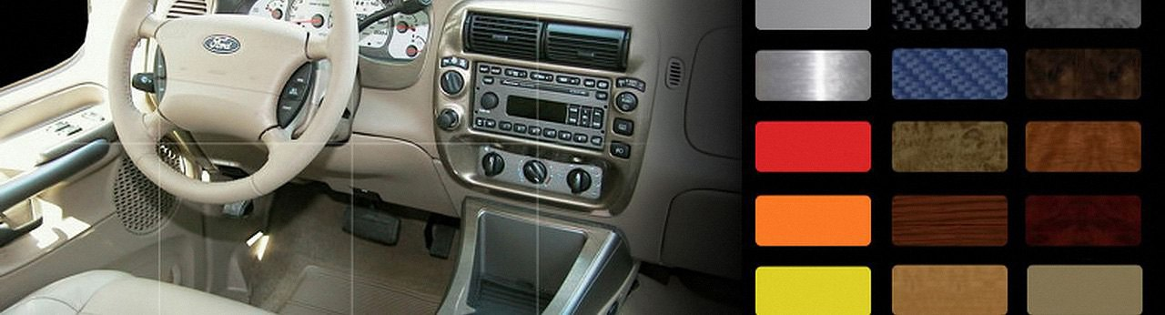 2001 Ford Explorer Sport Trac Dash Kit