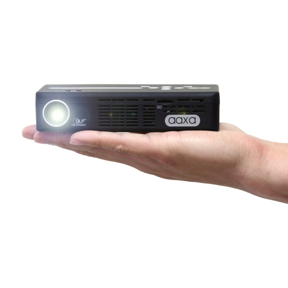 Aaxa kp5002 pico p4 x dlp projector for Dlp micro projector