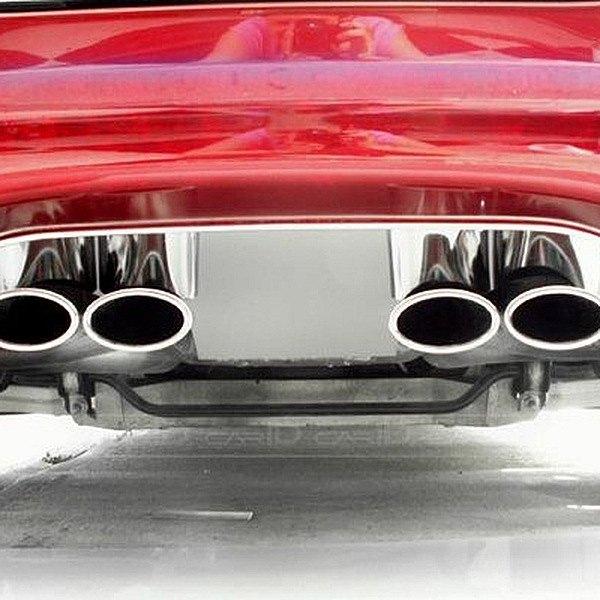 ACC® 032001 - Plain Polished Exhaust Filler Panel