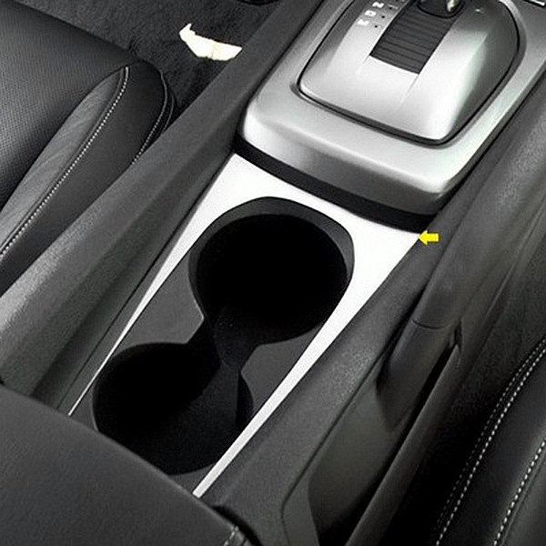 For Chevy Camaro 2010-2015 ACC Brushed Cup Holder Trim