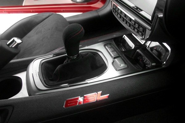 Acc Chevy Camaro 2010 Brushed Shifter Plate