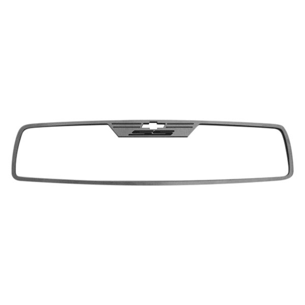 Acc Chevy Camaro 2014 Brushed Rear View Mirror Trim