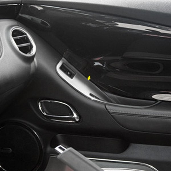 Acc Chevy Camaro 2010 Brushed Door Handle Pull Covers