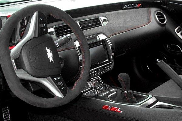 Acc Chevy Camaro 2011 Brushed Radio Control Trim