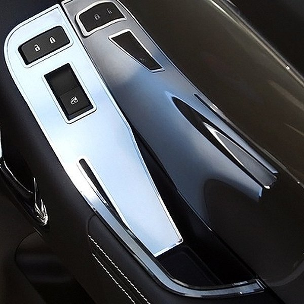 Acc Chevy Camaro 2012 2013 Brushed Stainless Door Handle Pull Covers