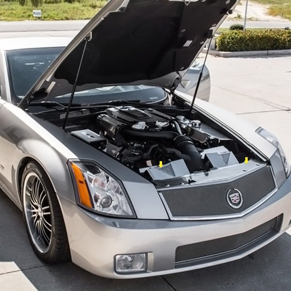For Cadillac XLR 2004-2009 ACC 123001 Perforated Polished