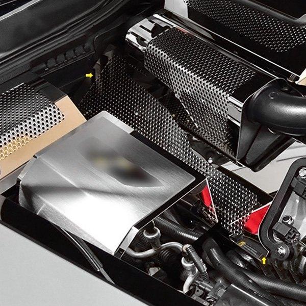 2009 Cadillac Xlr Camshaft: For Cadillac XLR 2006-2009 ACC Perforated Polished Lower
