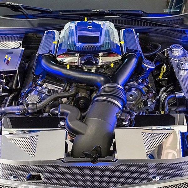 Cadillac XLR-V 2006 Perforated Illuminated Polished