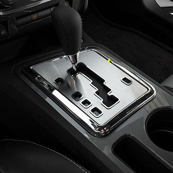 Acc Dodge Challenger 2013 Brushed Shifter Plate