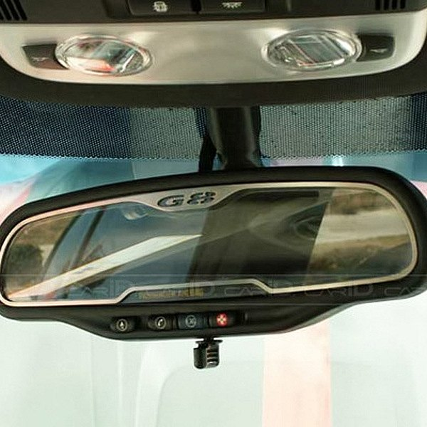 Acc 174 Pontiac G8 Gt 2008 Brushed Rear View Mirror Trim