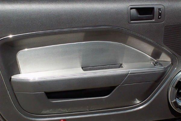 american car craft 271002 brushed door panel trim. Black Bedroom Furniture Sets. Home Design Ideas