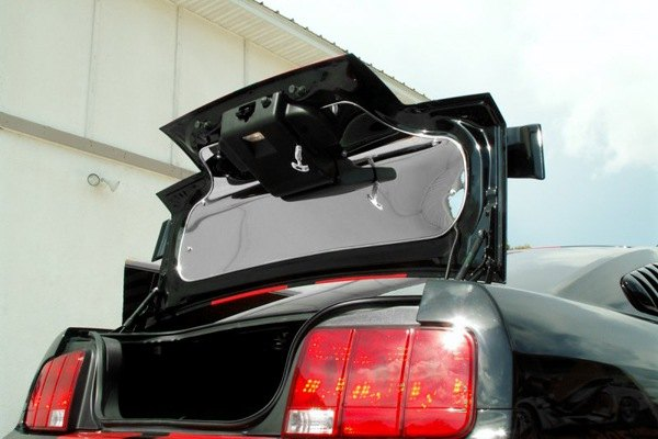acc 271012 05 09 ford mustang trunk lid panel polished car interior accessories. Black Bedroom Furniture Sets. Home Design Ideas