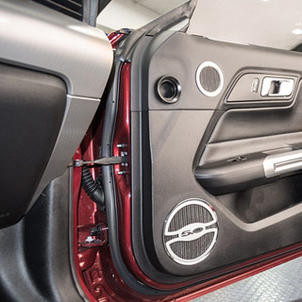 acc ford mustang 2015 door speaker bezels. Black Bedroom Furniture Sets. Home Design Ideas