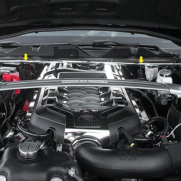 american car craft174 273026 polished firewall cover