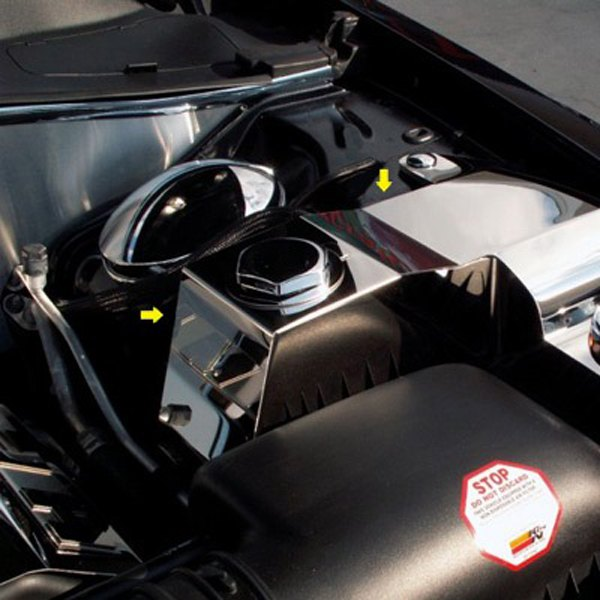 Chrysler 300 2006 Ground Effects Package: Polished Coolant And Power Steering Cover