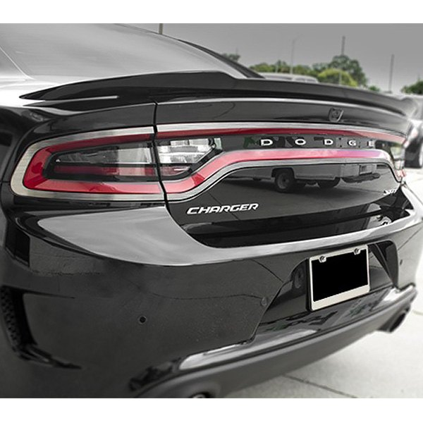 acc dodge charger 2015 2016 tail light bezels. Black Bedroom Furniture Sets. Home Design Ideas