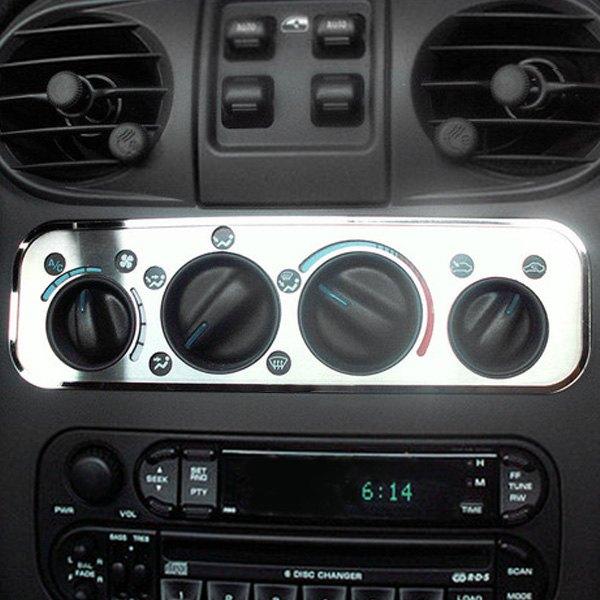 Acc 174 Chrysler Pt Cruiser 2001 2004 A C Control Trim Plate