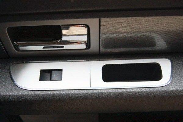 American Car Craft® - Brushed Door Arm Control BezelAmerican ... & American Car Craft® 771022 - Brushed Door Arm Control Bezel