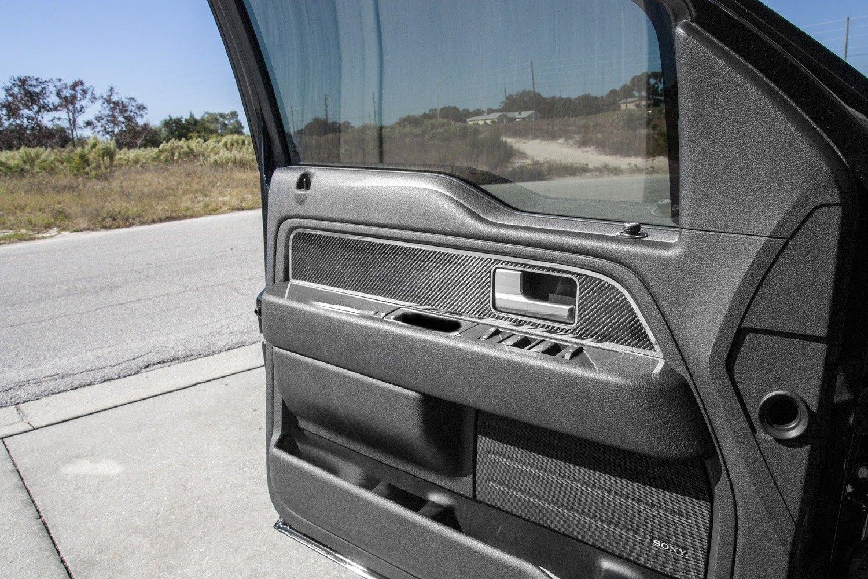american car craft ford f 150 2010 carbon fiber front door panel