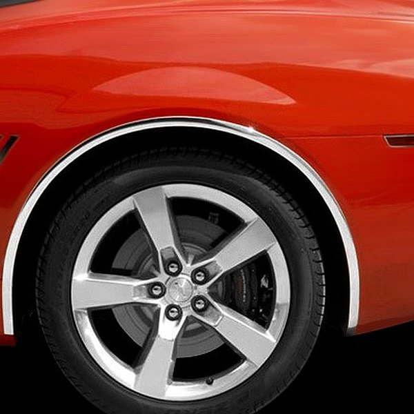 American Car Craft 174 102028 Chrome Fender Trim