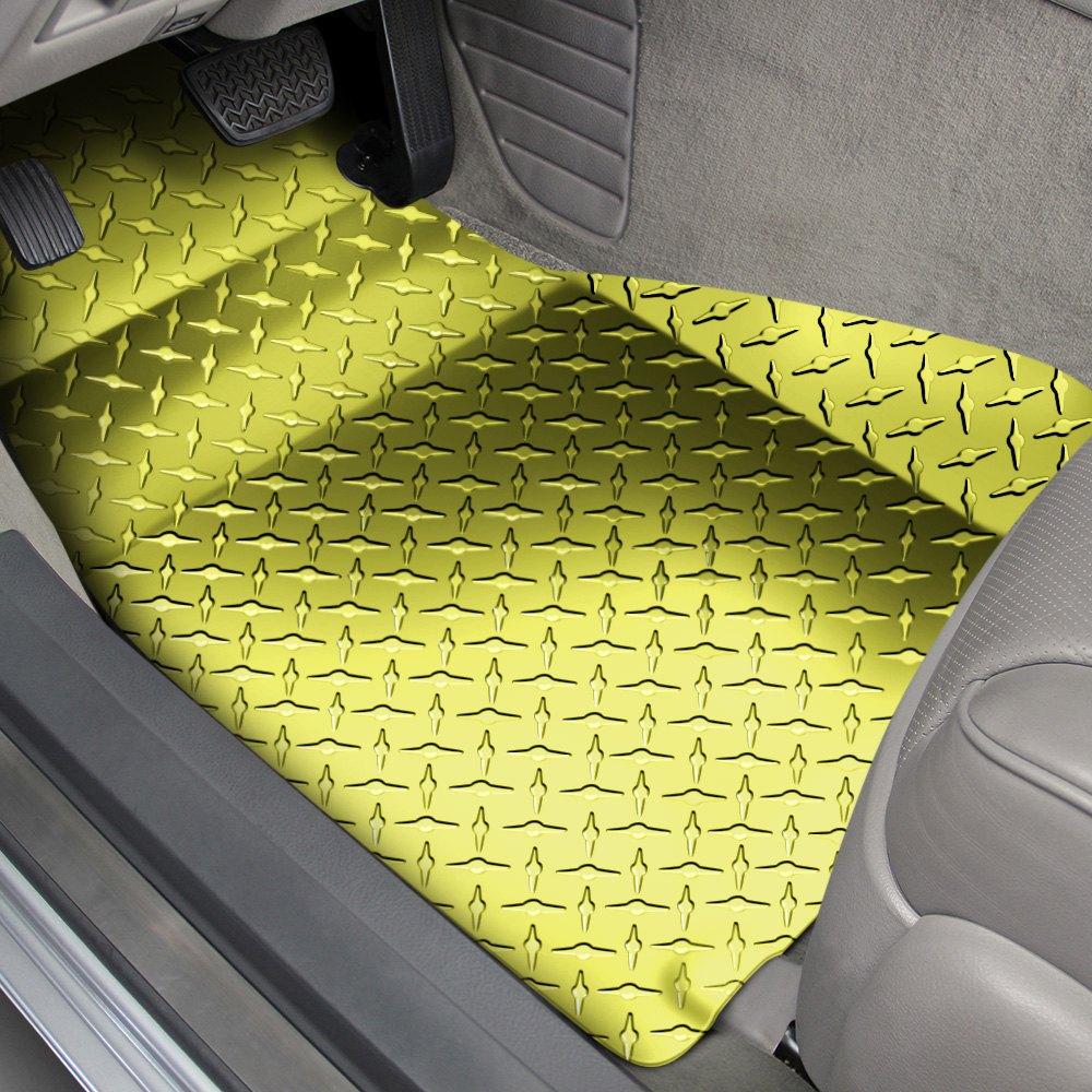 American Car Craft 174 041005 1st Row Aluminum Yellow