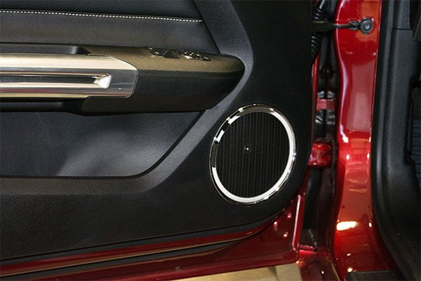 acc ford mustang 2016 door speaker bezels. Black Bedroom Furniture Sets. Home Design Ideas